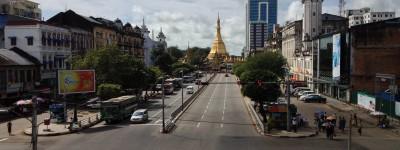 ミャンマーヤンゴンスーレーパゴダ