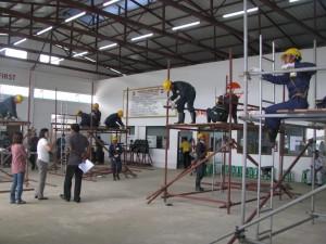 建築トレーニング