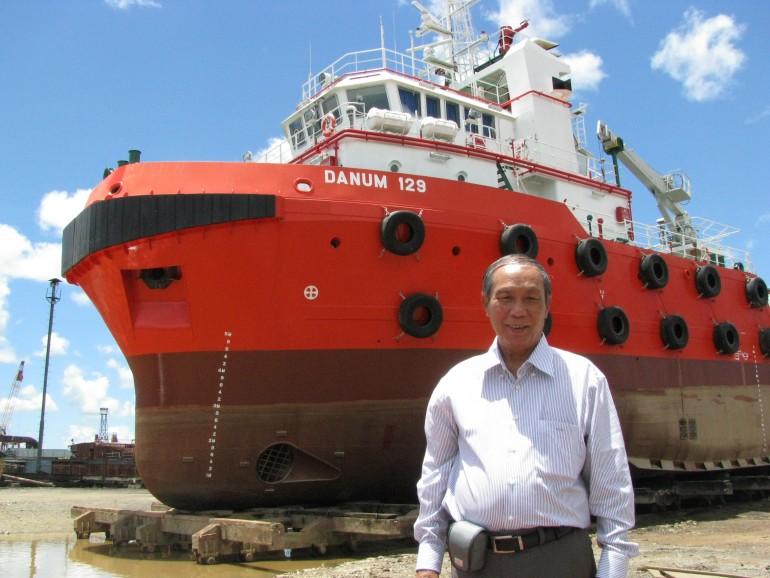 造船技師・外国人造船就労者。技能実習生