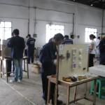 電気技師ミャンマー人技能実習生トレーニング