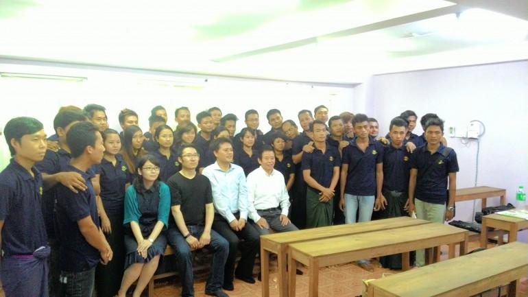 ミャンマー人技能実習生クラス