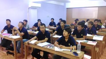 ミャンマー技能実習生-日本語事前学習