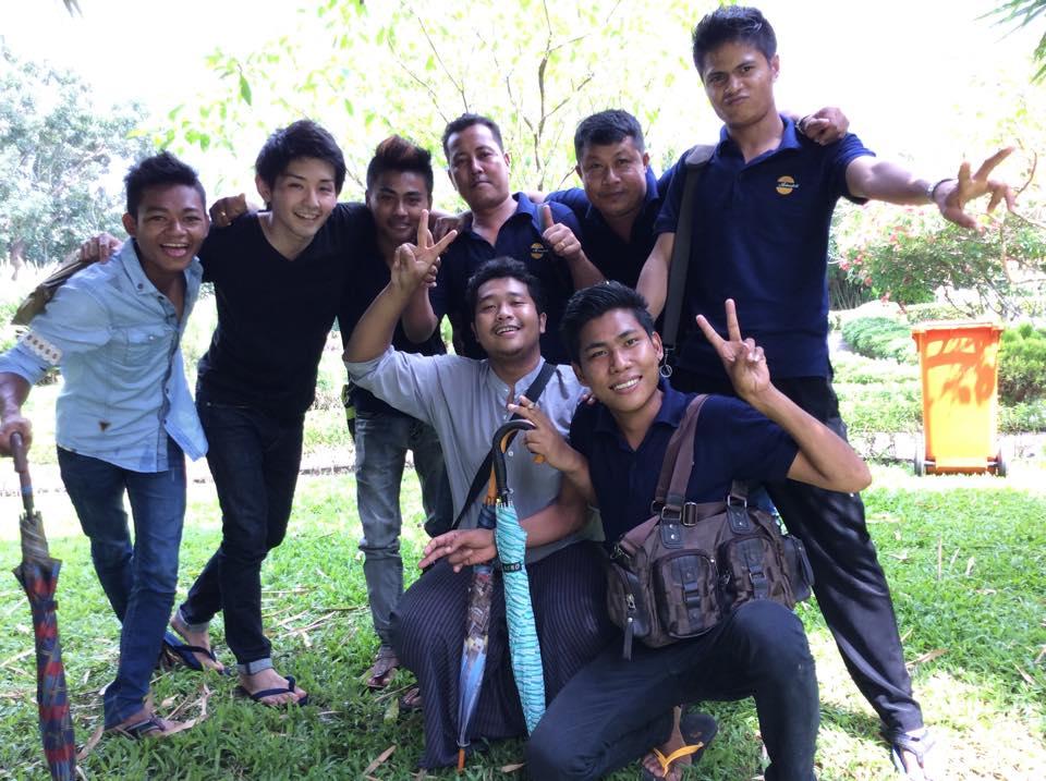 ミャンマー海外ボランティアと技能実習生