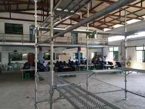 ミャンマー技能実習「とび」の足場組立解体採用試験-建設系企業様の採用に