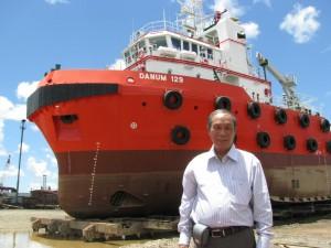 造船業技能実習生 溶接