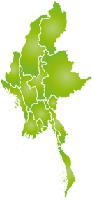 ミャンマー地図