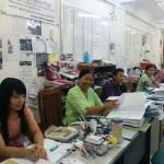ミャンマー人技能実習生送出し機関ARBOURFIELD CO.,LTD.オフィスの様子