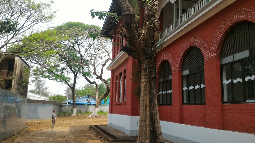 ミャンマー介護技能実習生育成施設