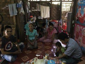 ミャンマー人技能実習生の家庭訪問