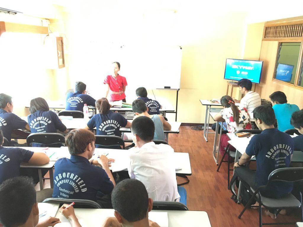 ミャンマー日本語学校SWJ