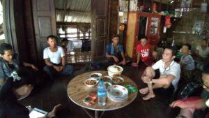ミャンマー人技能実習生の故郷のパテインの村の家族の家