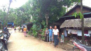 ミャンマー人技能実習生の故郷のパテインの村