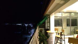 故郷の村を目指す前に前泊したパテインのホテルの写真