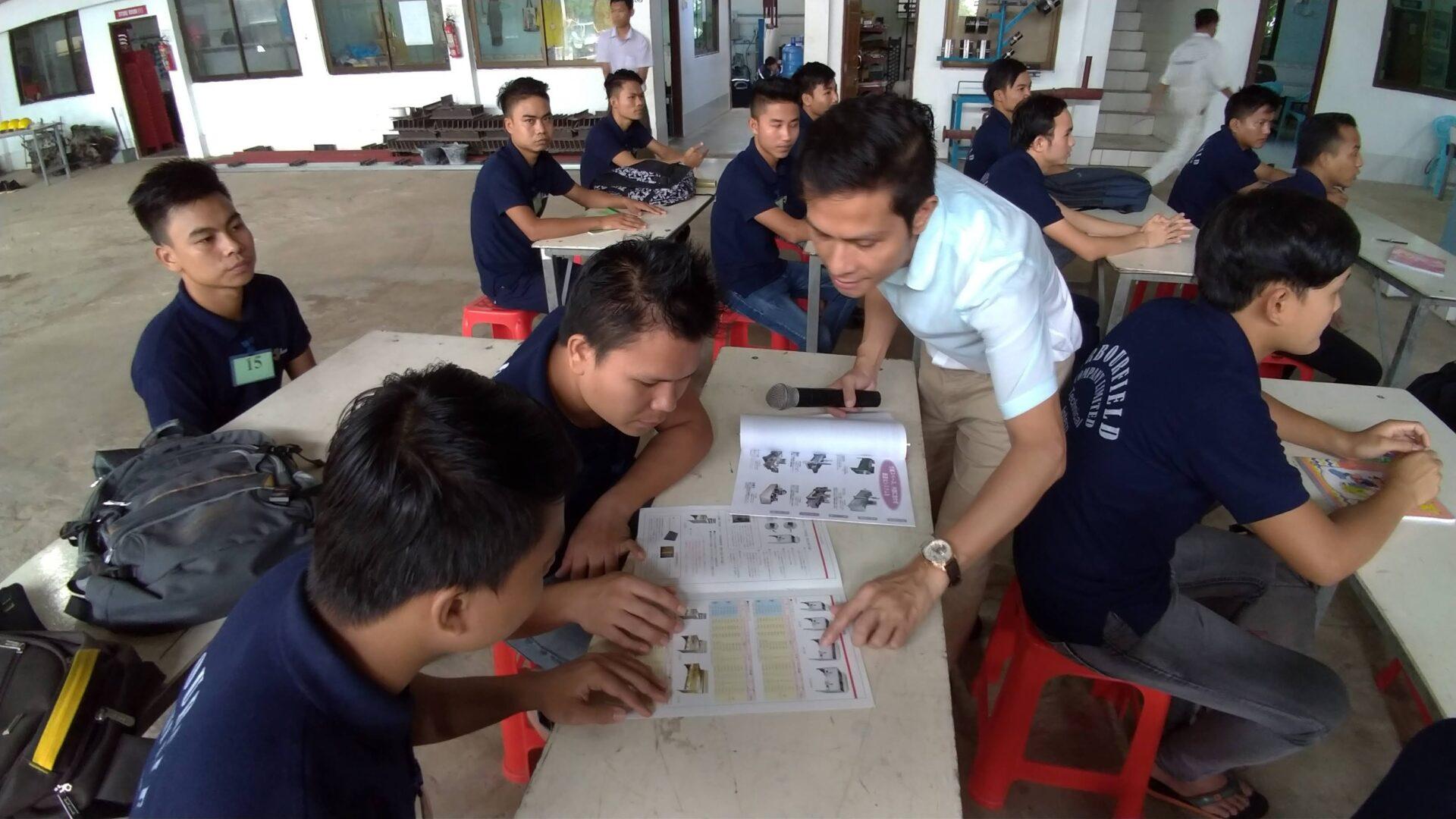 ミャンマー技能実習生企業説明
