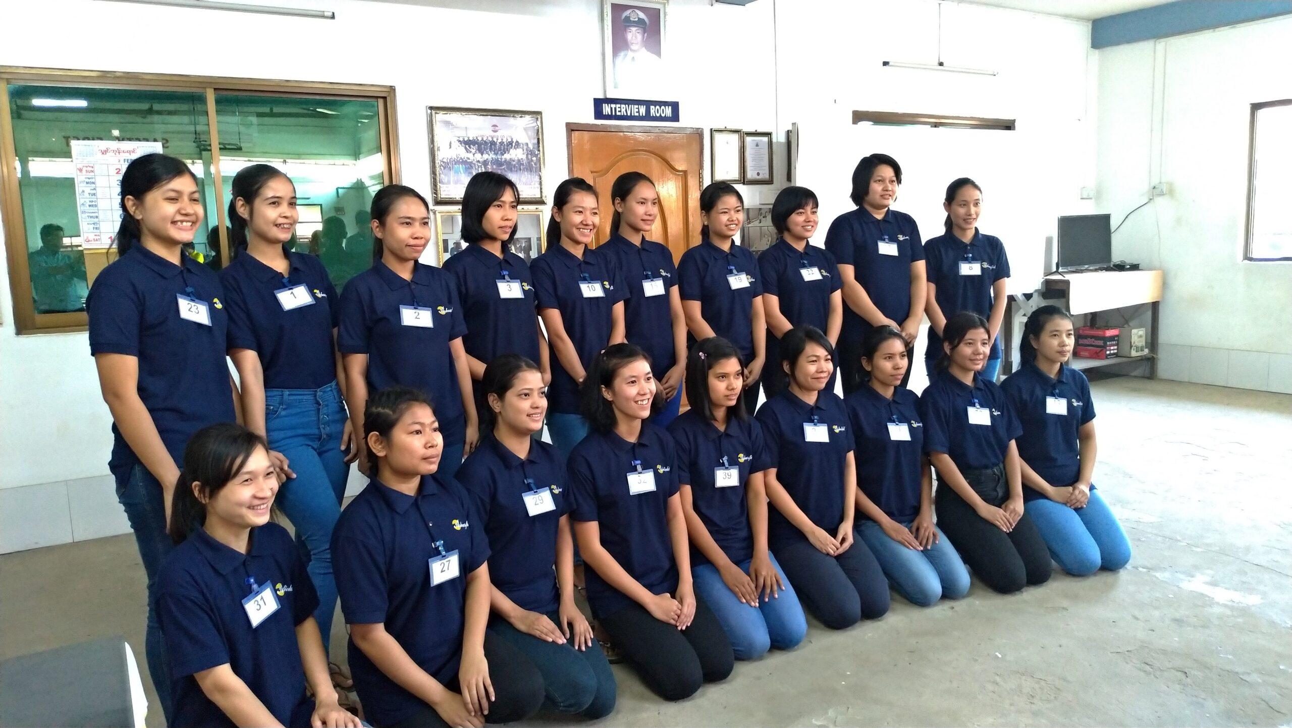 惣菜製造業の面接。ミャンマー人材の女性を求めて採用に。