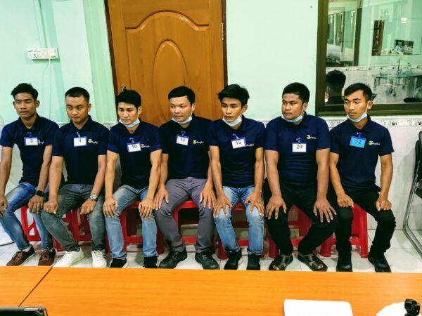 オンライン実技試験-ミャンマー人技能実習生面接の現場